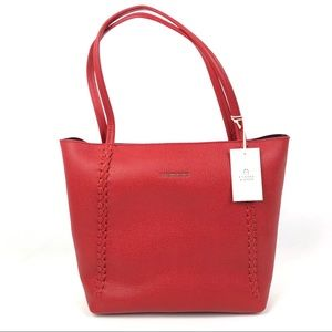 ETIENNE AIGNER Stella Large Tote Leather Bag Purse